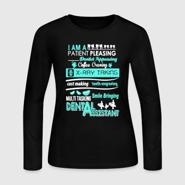 Dental Assistant Shirt - Women's Long Sleeve Jersey T-Shirt