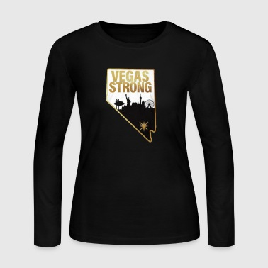 Las Vegas Strong - Women's Long Sleeve Jersey T-Shirt