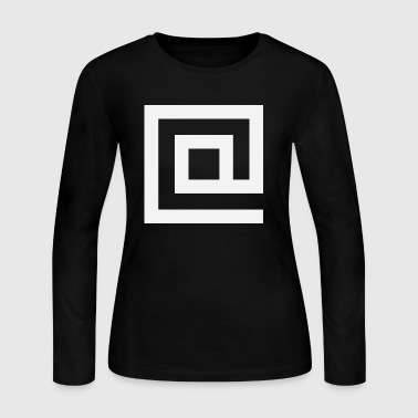 At Squared - Women's Long Sleeve Jersey T-Shirt