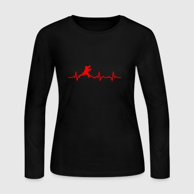 Heartbeats Love Dance T-shirt - Women's Long Sleeve Jersey T-Shirt