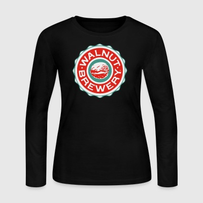 walnut brewery - Women's Long Sleeve Jersey T-Shirt