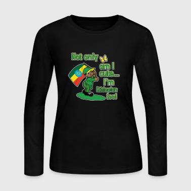Ethiopian Bob Sled Team - Women's Long Sleeve Jersey T-Shirt