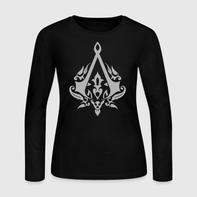 briefly seen on the CD of the Assassin s Creed - Women's Long Sleeve Jersey T-Shirt