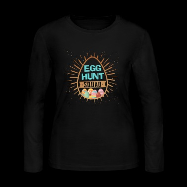 Easter Egg Hunt Shirt3 - Women's Long Sleeve Jersey T-Shirt