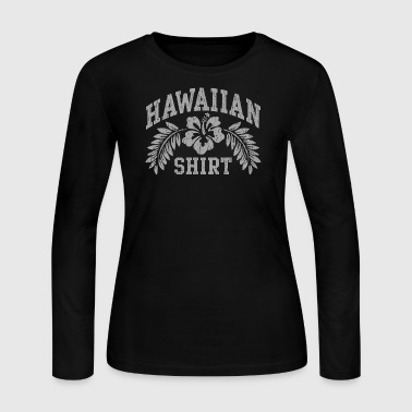 Hawaiian Shirt - Women's Long Sleeve Jersey T-Shirt