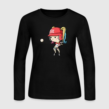 arley quinn - Women's Long Sleeve Jersey T-Shirt