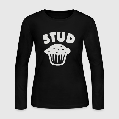 stud muffin - Women's Long Sleeve Jersey T-Shirt