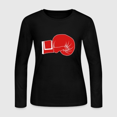 Boxing Gloves - Women's Long Sleeve Jersey T-Shirt