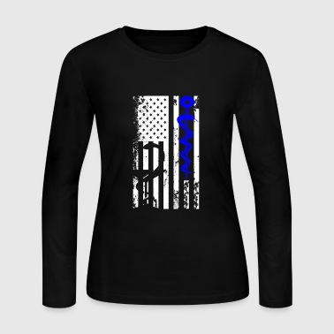Pharmacist Flag Shirt - Women's Long Sleeve Jersey T-Shirt