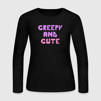 Creepy and Cute - Women's Long Sleeve Jersey T-Shirt