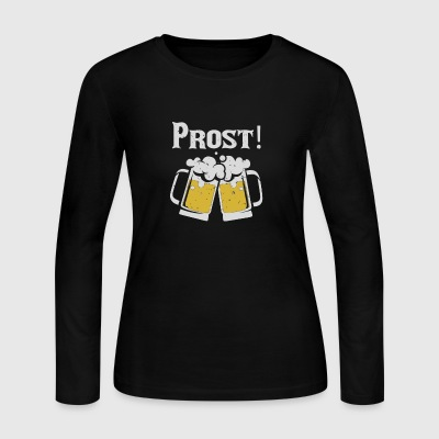 Prost Cheers - Women's Long Sleeve Jersey T-Shirt