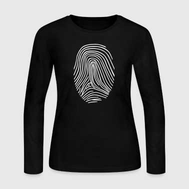 Fingerprint - Women's Long Sleeve Jersey T-Shirt