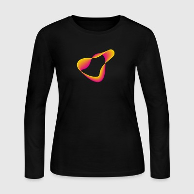neon shape - Women's Long Sleeve Jersey T-Shirt