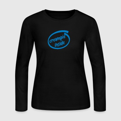 Creampie inside - Women's Long Sleeve Jersey T-Shirt