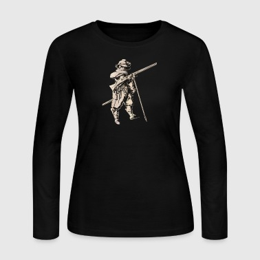 Soldier with mosquet - Women's Long Sleeve Jersey T-Shirt