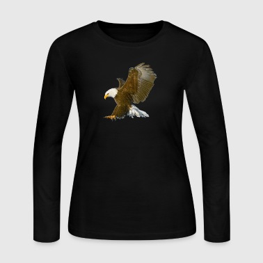 Eagle attack - Women's Long Sleeve Jersey T-Shirt