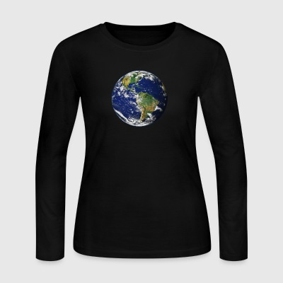 Planet Earth - Women's Long Sleeve Jersey T-Shirt