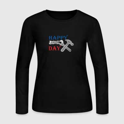 Happy Labor Day - Women's Long Sleeve Jersey T-Shirt