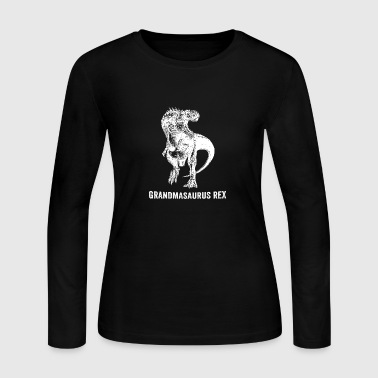 Grandmasaurus Rex - Women's Long Sleeve Jersey T-Shirt