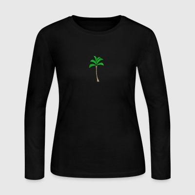 PalmTree - Women's Long Sleeve Jersey T-Shirt