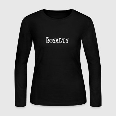 Royalty [WHITE] - Women's Long Sleeve Jersey T-Shirt