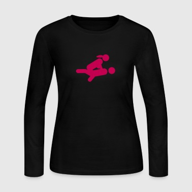 icon sex couples 109 - Women's Long Sleeve Jersey T-Shirt