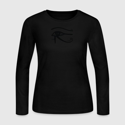 Horus creative cyber system - Women's Long Sleeve Jersey T-Shirt