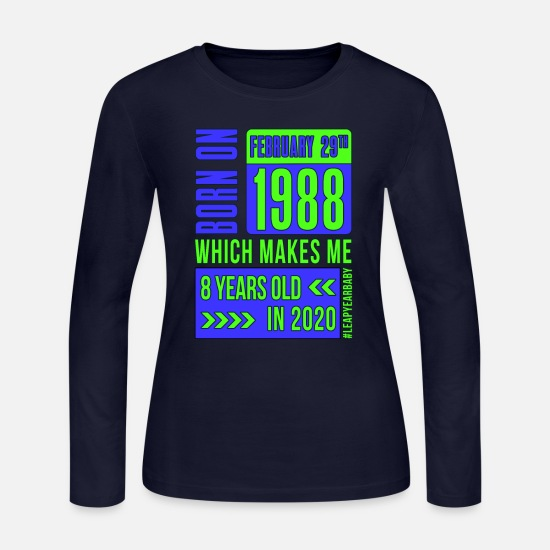 Old Long-Sleeve Shirts - 8 years old - Women's Jersey Longsleeve Shirt navy