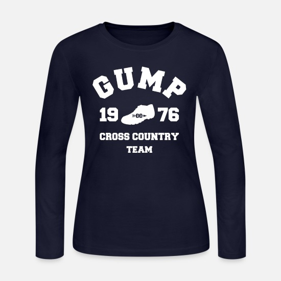 Forest Long-Sleeve Shirts - Forest Gump - Cross Country Team - Women's Jersey Longsleeve Shirt navy