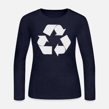 Recycle Recycle Symbol - Women's Jersey Longsleeve Shirt