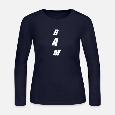 Ram RAM - Women's Long Sleeve Jersey T-Shirt