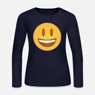 Happy Face HAPPY - Women's Long Sleeve Jersey T-Shirt