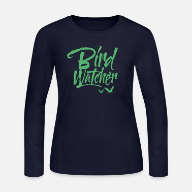 Bird Birds Bird Watching - Women's Jersey Longsleeve Shirt