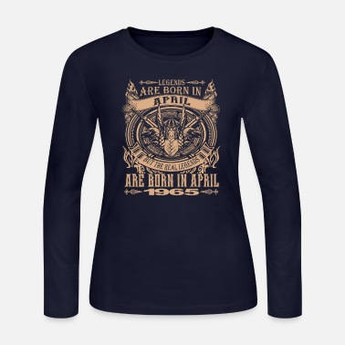1965 Legends Are Born in 1965 - Women's Long Sleeve Jersey T-Shirt