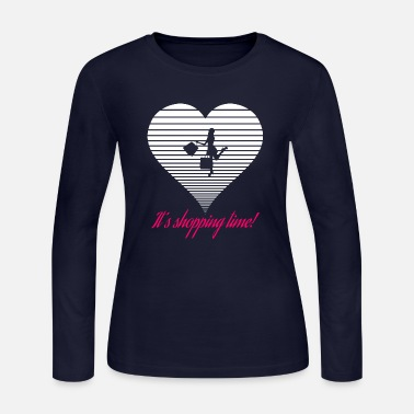 Shops Shopping - Women's Long Sleeve Jersey T-Shirt
