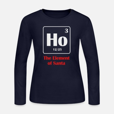 the element of santa - Women's Jersey Longsleeve Shirt