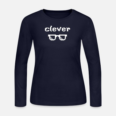Clever clever - Women's Long Sleeve Jersey T-Shirt