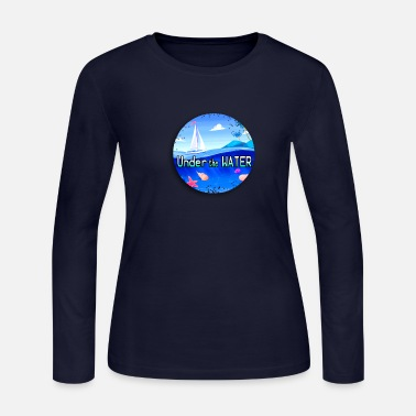 Under Water Under the water - Women's Long Sleeve Jersey T-Shirt