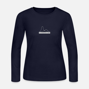 flatten the curve - Women's Jersey Longsleeve Shirt