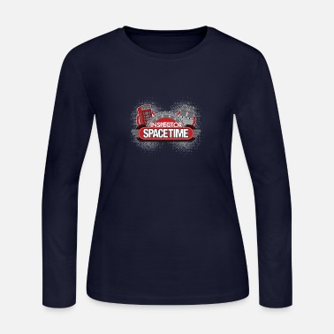 Inspector Spacetime Blogon Edition - Women's Jersey Longsleeve Shirt