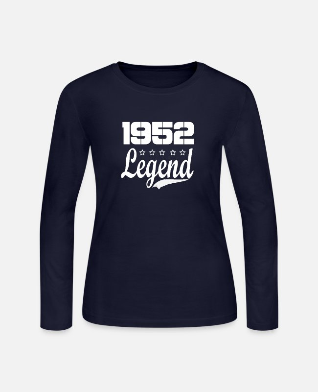 1952 Long-Sleeved Shirts - 52 legend - Women's Jersey Longsleeve Shirt navy