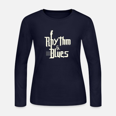 Rhythm Rhythm and blues - Women's Long Sleeve Jersey T-Shirt