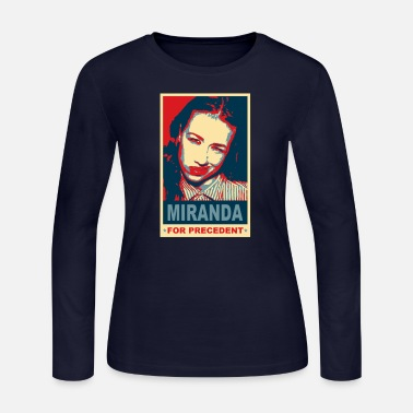 Miranda Sings For Precedent Miranda Sings Miranda For Precedent - Women's Jersey Longsleeve Shirt