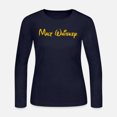 Malt malt whiskey - Women's Long Sleeve Jersey T-Shirt