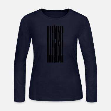 Illegal illegible - Women's Long Sleeve Jersey T-Shirt