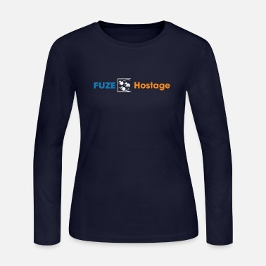 Fuze Over Hostage Funny Multiplayer Rainbow Six Si Fuze over hostage funny multiplayer rainbow six si - Women's Jersey Longsleeve Shirt