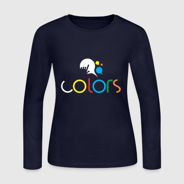 Colors - Women's Long Sleeve Jersey T-Shirt