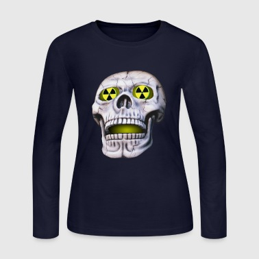nuclear skull - Women's Long Sleeve Jersey T-Shirt