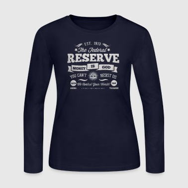 Federal Reserve 1913 - Women's Long Sleeve Jersey T-Shirt