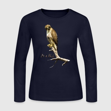 Hawk Be a Hawk - Women's Long Sleeve Jersey T-Shirt